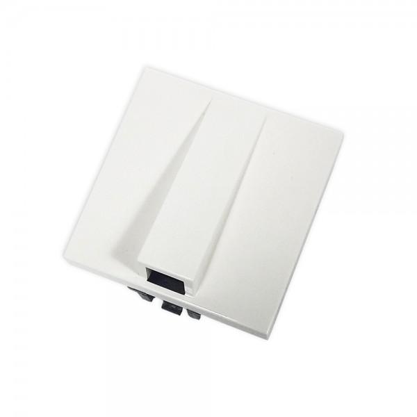 Salida cable 2 módulos blanco Zenit Niessen