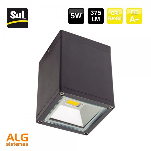 Luminaria de superficie led CobSurf 5W SUL