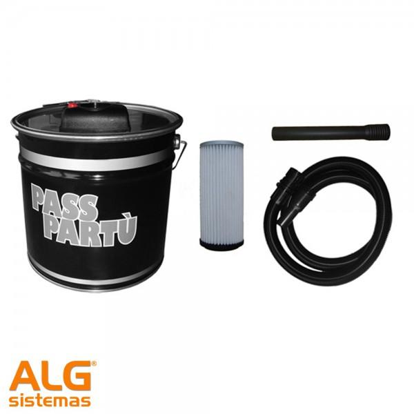 Passpartú (Separador de cenizas y líquidos)