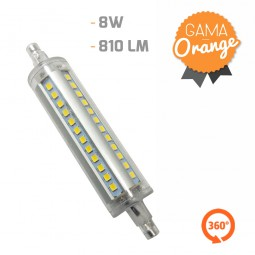 Lámpara Led R7S 360º 8W