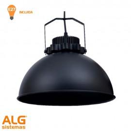 Lámpara vintage Arezzo negro
