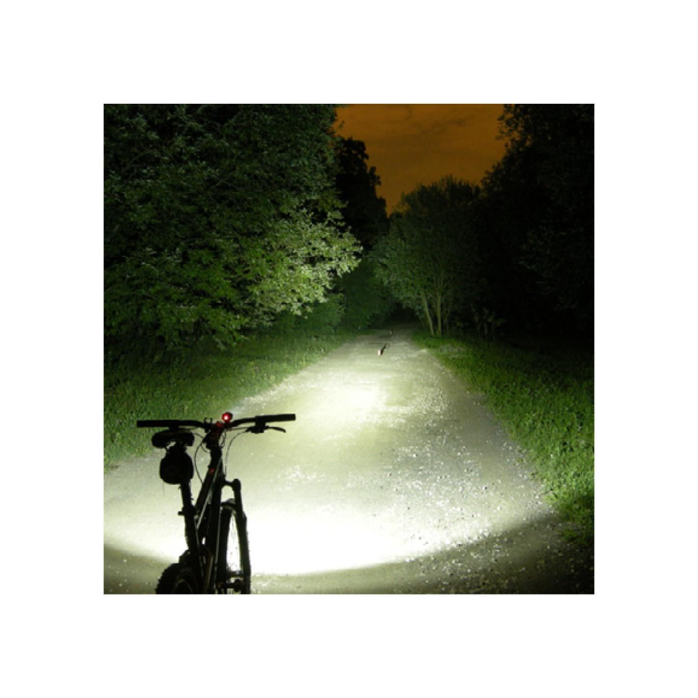 Linterna recargable de cabeza y bicicleta 10w 2 de 3w - Linternas de cabeza ...