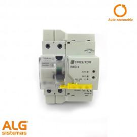 Interruptor diferencial autorearmable circutor