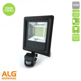 Proyector Led con sensor 20W