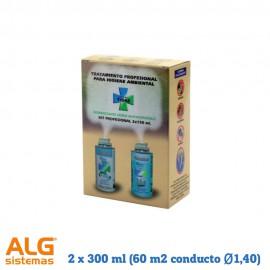 Sistema de limpieza integral Sistema Tidas AAC.2 x 300 ml