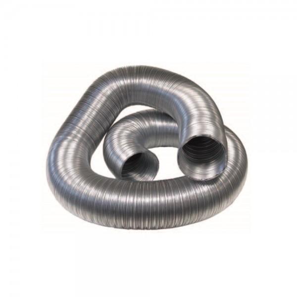 Tubo flexible de aluminio sin aislar