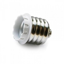 Adaptador lámparas E40 a E27