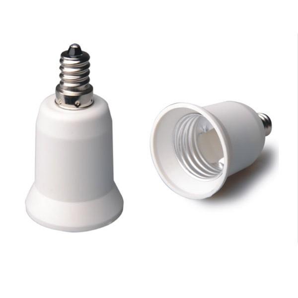 Adaptador lamparas E27 a E14