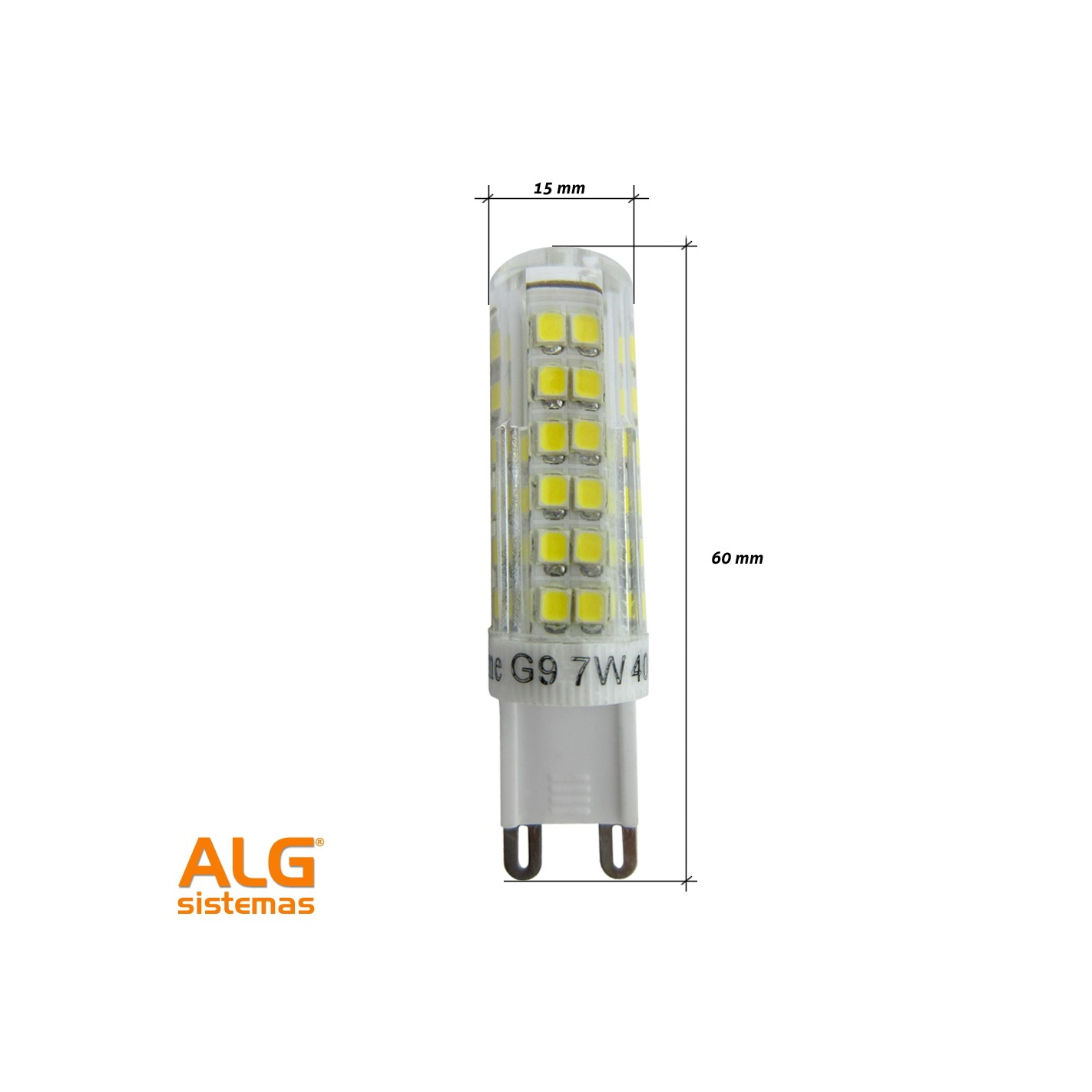 Bombilla g9 led fabulous bombilla g led w v k with - Bombilla led g9 ...