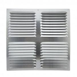Rejilla de ventilación plana 300x300 mm Aluminio