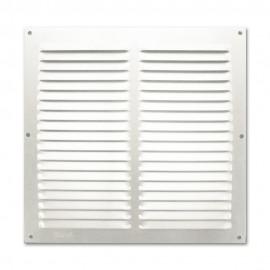 Rejilla de ventilación plana 300x300 mm Blanco