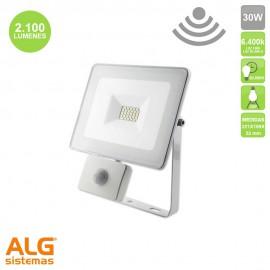 Proyector Multiled con sensor 30W IP65 Blanco EDM