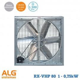 Extractor de aire industrial RX-VHP 80-1 (0,75KW)