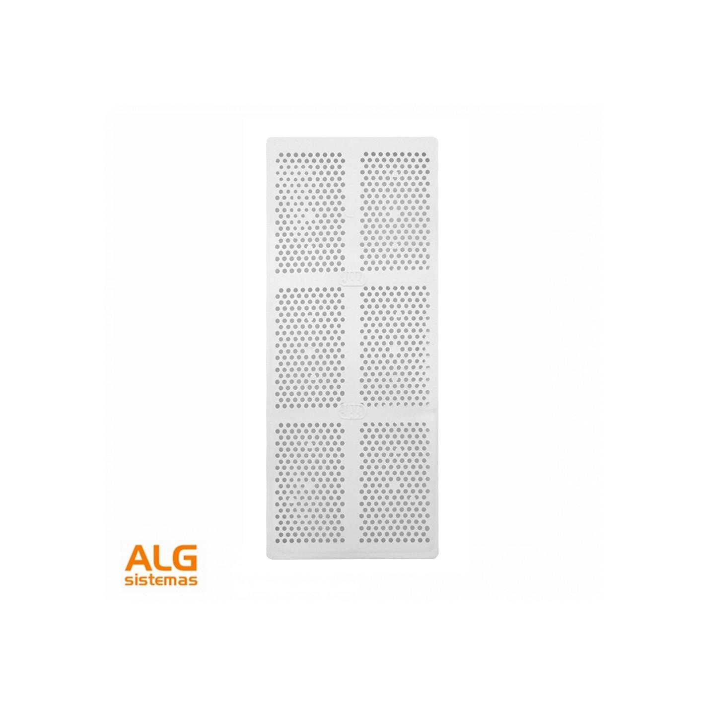 Rejillas De Ventilacion Para Baños | Rejilla Ventilacion Bano Pvc 9 8x22 5 Cm Con Marco Alg Sistemas