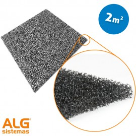 Espuma filtrante poliuretano