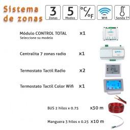 Kit 3 zonas Wifi