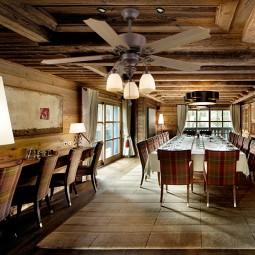 Ventilador de techo con luz Serie Carina