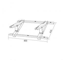Soporte para tejado o suelo inclinado