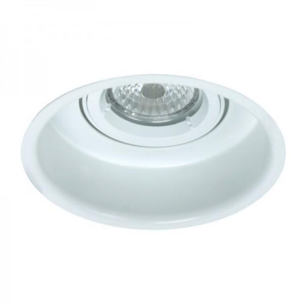Foco empotrable basculante ambiente circular 115 diámetro