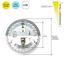 Lámpara de LEDs AR111 G53 SMD2835 12W 1050Lm 50.000H