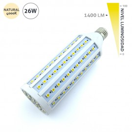 Lámpara led mazorca E27 26W 1400LM