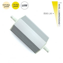 bombilla led lineal r7s 10W dimable