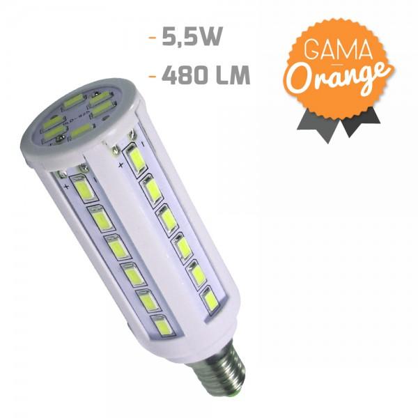 Bombilla led mazorca E14 5,5W