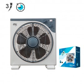 VENTILADOR BOX FAN EDM 45 W 30 CM
