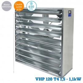 Ventilador helicoidal VHP 120 T4 1,5CV (1,1KW)
