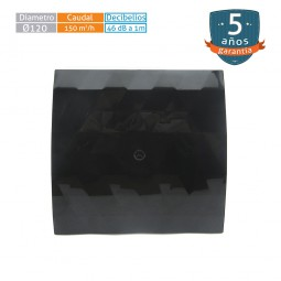 Extractor de baño Black & White Ø120