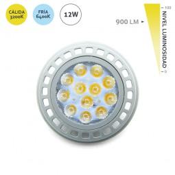 Bombilla LED AR111 G53 12W 900LM EDM