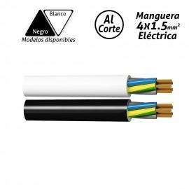 Manguera eléctrica 4x1.5mm2