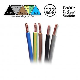 Cable flexible de 1.5mm H07V-K