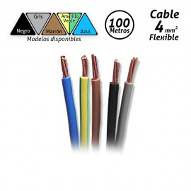 Cable flexible de 4mm H07V-K