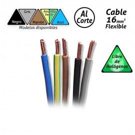 Cable flexible de 16mm2 Libre de Halógenos H07Z1-K (por metro).