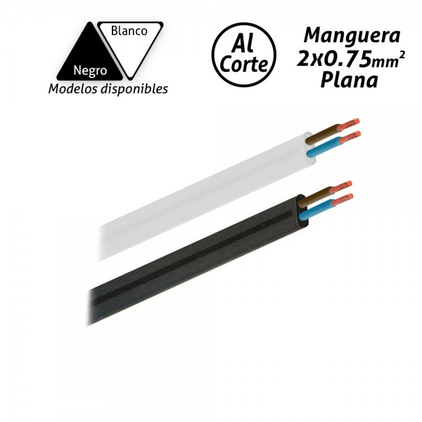 Manguera eléctrica plana 2x0.75mm2