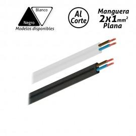 Manguera eléctrica plana 2x1mm2