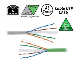 Cable UTP CAT6 Libre Halógenos