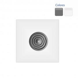 Difusor circular sobre placa DCI+PE