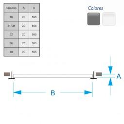 Difusor Radial DRP-40 (1000m3/h)
