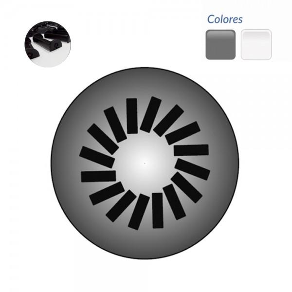 Difusor Rotacional sobre placa redonda DRDX 16-500