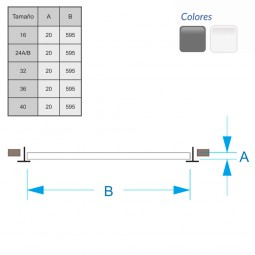 Difusor Radial sobre placa redonda DRPX 28-500