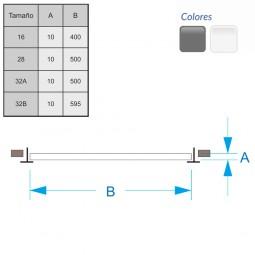 Difusor Radial sobre placa redonda DRPX 32B-600