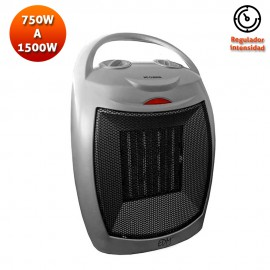 Calefactor cerámico 750-1500W EDM