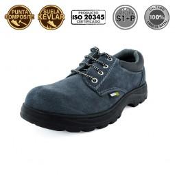 Zapato de seguridad serraje Composite S1P