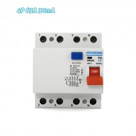 Interruptor diferencial 4P 63A 30mA HYUNDAI