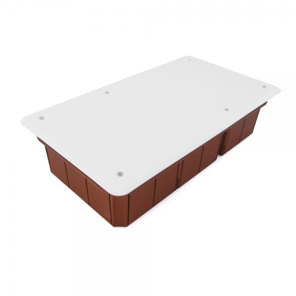 Caja empalme empotrar 294x152x70 3 compartimentos