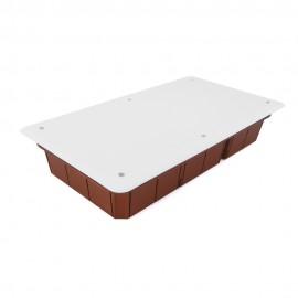 Caja empalme empotrar 392x152x75 4 compartimentos