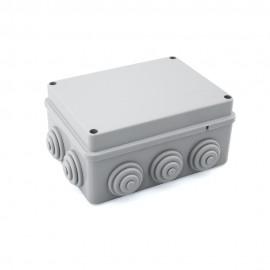 Caja de empalme superficie gris estanca 150x110x70mm