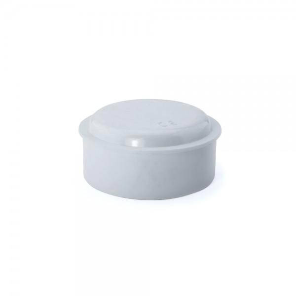 Caja de empalme superficie blanca redonda Ø60x30